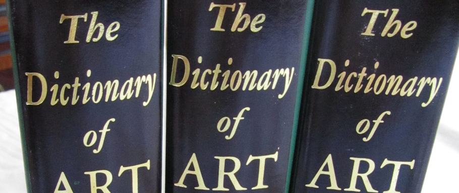 grove dictionary of art